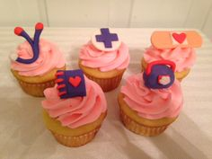 Doc McStuffin Cupcakes!! 416-884-8050 to order