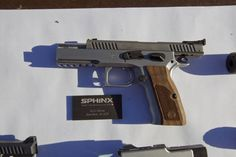 sphinx pistols    Absolutely gorgeous.  Impossible to find.