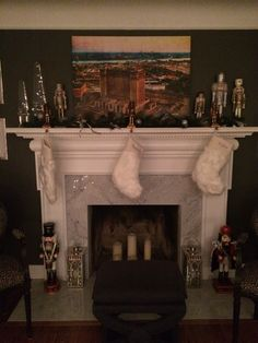 2015 Holiday mantle