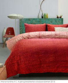 Lentekriebels met de frisse voorjaarscollectie van Auping  Nieuwe dessins bedtextiel brengen frisheid en kleur in de slaapkamer