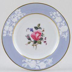 blueandwhite.com-------RP: Spode Maritime Rose Plate c.1913