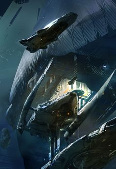 Sparth - Cover Art for The Best Science Fiction and Fantasy of the Year, Volume 6
