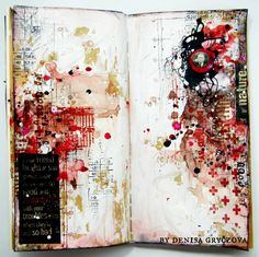 Mixed Media Art Journals with Tattered Angels - The Creative Studio