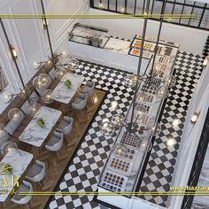 مطعم ايطالي من تصميم افضل مصممين بشركتنا بازار للديكور تصميم مميز من بازار للديكور ديكور كافيه ومخبز فر Restaurant Plan Restaurant Interior Interior Decorating
