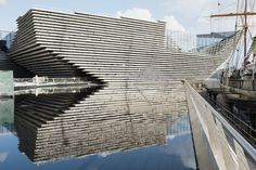 The still-under-construction V&A Museum in Dundee, Scotland.. Where to Go in 2018 - Bloomberg