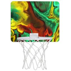 Fractal Art 2-2 Mini Basketball Hoops