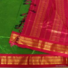 Kanjivaram Madisar saree in Silk - PSG 61