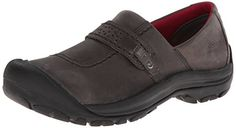 KEEN Women's Kaci Full-Grain Slip On Shoe >>> Details can be found by clicking on the image.