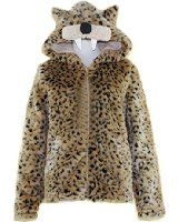Winter Women's Fur Collar Leather Jacket Trench Outwear Overcoat Parka at Amazon Women's Coats Shop