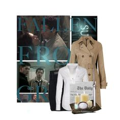 """Castiel"" by kate7695 on Polyvore"