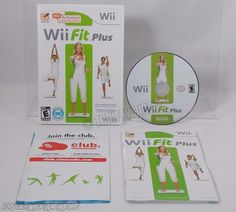 Wii Fit Plus for Nintendo Wii Complete Exercise Game Only NO Balance Board