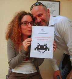 """""""Proud to be an invader""""  #invasionidigitali"""