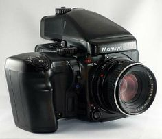 Mamiya 645 Pro TL W/ Motor Winder Grip