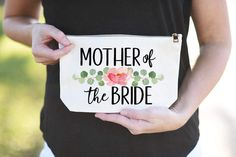 Etsy Mother of the Bride Makeup Bag, Mother of the Bride Cosmetic Bag, Mother of the Bride Bag, Makeup bag #motherofthebride #gift