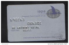 IAPA -  FREQUENT FLYER CARD