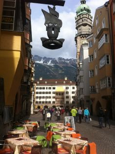 Old Town Innsbruck Austria Innsbruck, Salzburg, Places Around The World, Around The Worlds, Beautiful Places To Travel, Bavaria, Old Town, Austria, Places Ive Been