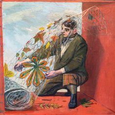 """October"" a detail from ""An English Calendar"" by Evelyn Dunbar, 1938 (via Simon Martin on Twitter)"