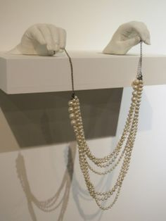 Exhibition: Central Saint Martins BA Jewellery 2013 We sell mannequin hands at www.MannequinMadness.com