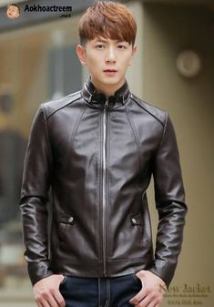 Áo khoác da nam cao cấp, thiết kế trẻ trung, kiểu dáng sành điệu, chất liệu da chống gió tốt, màu sắc nổi bật mang đến phong cách trẻ trung, cá tính cho người mặc.