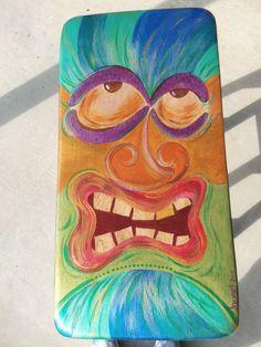 Tiki Face Bar Stools