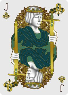 Nouveau BIJOUX Jack of Clubs - playing cards art, game, playing cards collection, playing cards project, cards collectors, design, illustration, card game, game, cards, cardist, cardistry, bijoux, jewelry