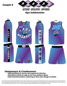 c1112f429 Using team colors in ways never thought of. Stacey Martin · Sublimation  Uniform for Basketball