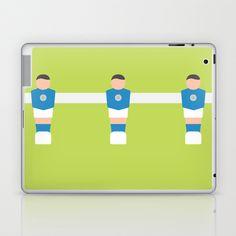 #79 Foosball Laptop & iPad Skin by MNML Thing - $25.00