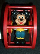 Vintage Mickey Mouse Spinning Wheel Toy Walt Disney Productions Used Cond Vintage Mickey Mouse, Mickey Minnie Mouse, Vintage Disney, Disney Figurines, Old Toys, Spinning, Walt Disney, Ebay, Decor