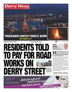 Derry News 23 March 2015 Magazine