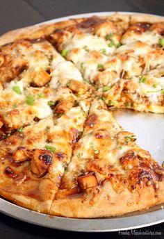 Asian Chicken Pizza