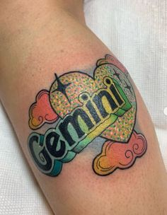 Zodiac tattoos are becoming very popular and the Gemini tattoos are among the most common. Check our collection of some creative Gemini tattoos. Horoscope Tattoos, Taurus Tattoos, Cancer Tattoos, Zodiac Tattoos, Gemini Sign Tattoo, Gemini Tattoo Designs, Best Tattoo Designs, Skin Color Tattoos, Body Tattoos
