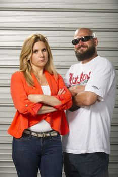 Jarrod literally bowled Brandi over on Storage Wars http://www.examiner.com/article/storage-wars-goes-bowling-for-brandi-on-a-e