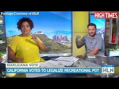 HIGH TIMES EDITOR BRINGS AN OUNCE OF POT ON LIVE TV - Stoned Depot