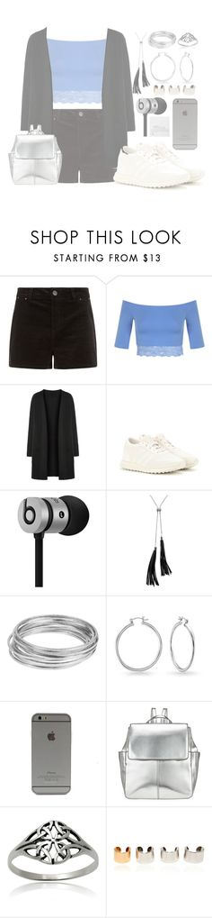 """Silver 👀🍃"" by i-smell-grunge ❤ liked on Polyvore featuring Miss Selfridge, adidas, Beats by Dr. Dre, White House Black Market, Worthington, Bling Jewelry, Kin by John Lewis, Journee Collection, Maison Margiela and Dogeared"