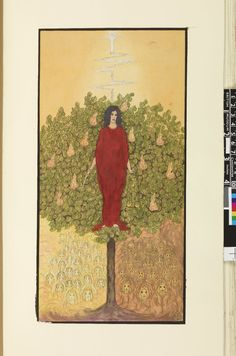 19 [Waite - Trinick. The Justice] Album of the Great Symbols of the Paths; illustrations to the Ritual of the most Holy Order of the Rosy and Golden Cross. 1917-21 #32