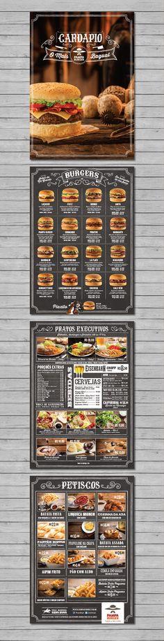 New design menu burger ideas Menue Design, Food Menu Design, Restaurant Menu Design, Burger Bar, Burger Restaurant, Food Truck, Menu Layout, Burger Recipes, Burger Ideas