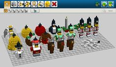 Make your own LEGO Christmas ornaments!