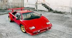 I know it is outdated and a harsh ride, but I still would love one.  Lamborghini Countach