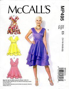 Sz 14/16/18/20/22  McCall's Dress Pattern by ThePatternSource