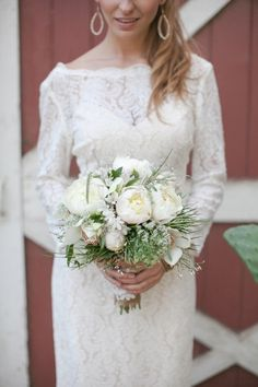Hot Wedding Trends: Wedding Dresses with High Necklines - Wedding Party