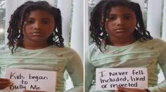 Nasir Andrews 9 a fourth-grader at Ardmore Elementary School in Bellevue Washington posts video against racist bullying.  An African-American elementary school student in Bellevue Washington sends a powerful anti-bullying message in an emotional Facebook video which has gone viral KIRO-TV reports.  So emotional is the video of 9-year-oldNasir Andrewsthat she doesnt have to say a word. Nasir who is finishing fourth grade at Ardmore Elementary School holds up index cards with written words and…