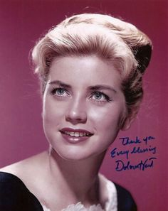 Lovely young starlet Dolores Hart