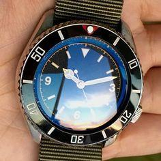Seiko Mod... Explore modification ideas and designs at www.DLWwatches.com  #seiko #seikomod #skx007 #skx009 #bezel #ceramicbezel #seikodiver #seikowatch #diverwatch #watchuseek #instawatch #dailywatch #watchporn #watchfam #watches #watchnerd #watchshot #watchpic #rolex #sub #submariner #dlwwatches #dlw by dlw.watches #rolex #submariner