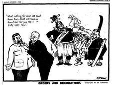 """""""El pacto entre la Alemania nazi, la Italia fascista y el Japón declaró un"""" Nuevo Orden """", mediante el cual el mundo, le gustó o no, fue dividido en esferas de influencia: Europa por Alemania, África para Italia, y el Lejano Oriente para Japón. Hitler se había hecho cargo de los restos de Rumania hasta el Mar Negro. Los signos muestran el equilibrio de poder en la asociación nazi-soviético que fueron alteradas para la desventaja de Moscú """"."""