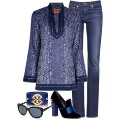 """Tory Burch"" by johannahoj on Polyvore"