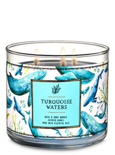 Shop Turquoise Waters Candle at Bath And Body Works! Fill your home with the most irresistible, beautiful fragrance today. Bath Candles, 3 Wick Candles, Lip Scrub Homemade, Candle Store, Lush Bath Bombs, Homemade Cosmetics, Bath And Bodyworks, Smell Good, Keep It Cleaner