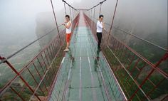 World's Most Terrifying (and Beautiful) Glass Skywalks.