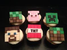 - Minecraft cupcakes.