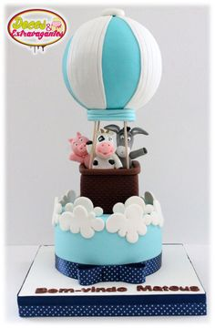 In the sky.... - Cake by Doces & Extravagantes