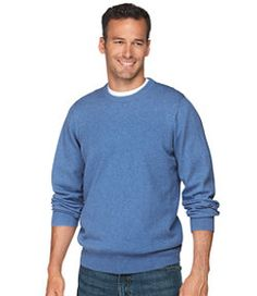 scott #LLBean: Cotton/Cashmere Sweater, Crewneck